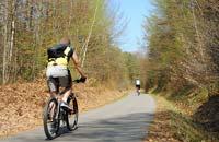 Fahrradfahren im Bayerischen Wald